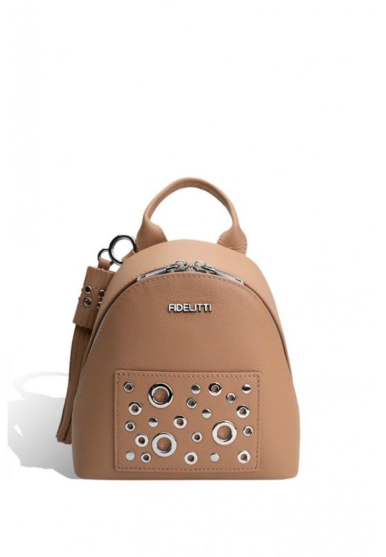 Рюкзак кожаный женский Fidelitti