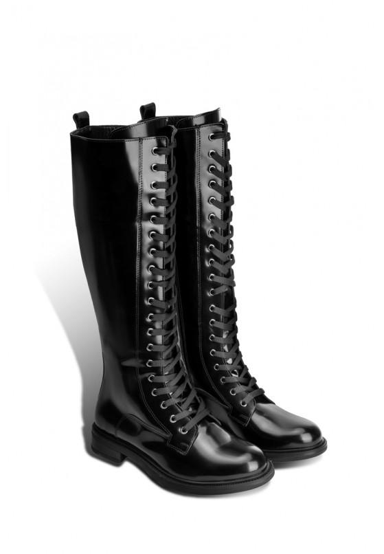 Сапоги кожаные женские Fidelitti