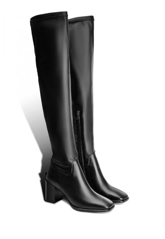 Ботфорты кожаные женские Fidelitti