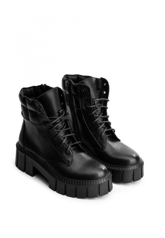 Ботинки кожаные женские Fidelitti