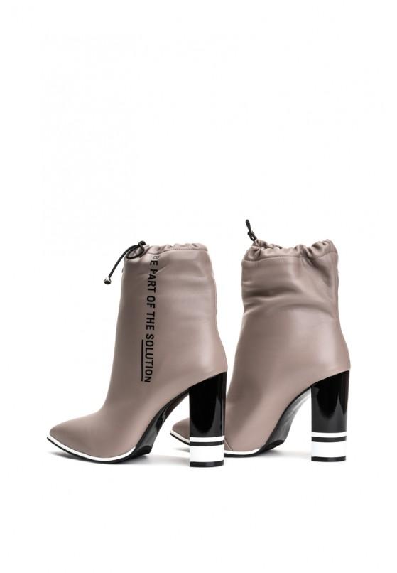 Ботильоны кожаные женские Fidelitti