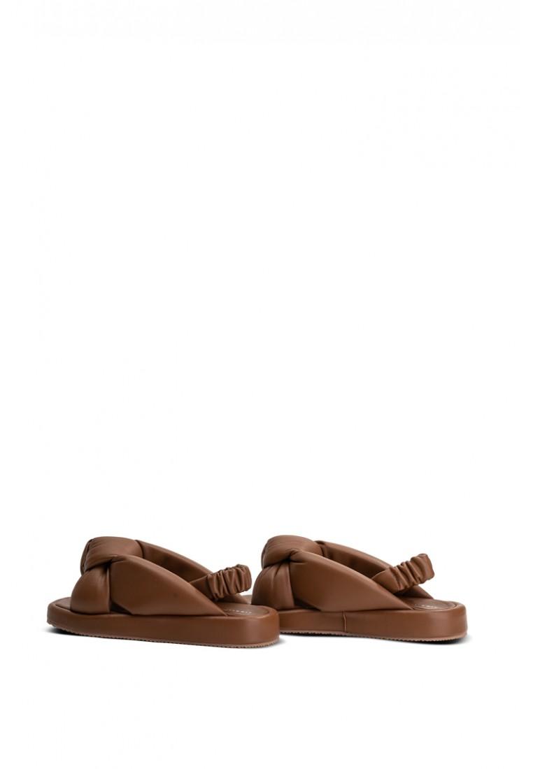 Босоножки кожаные женские
