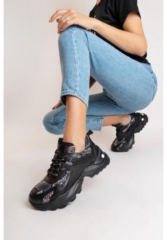 Кросівки шкіряні жіночі