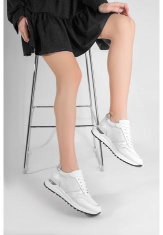 Кроссовки кожаные женские Fidelitti